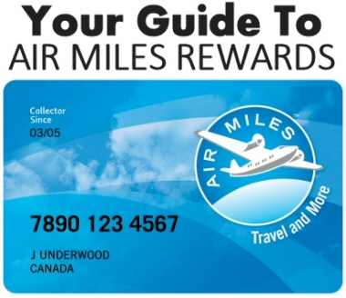 Air Miles Rewards