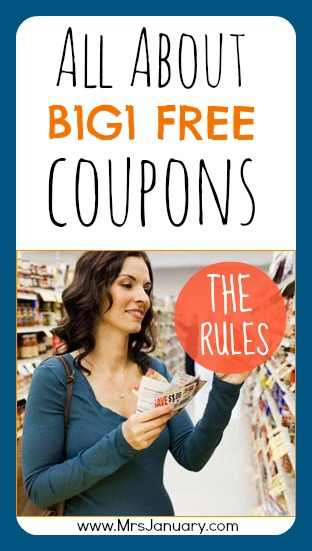 B1G1 Free Coupon Rules