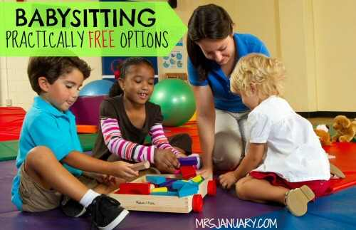 Babysitting Free Options