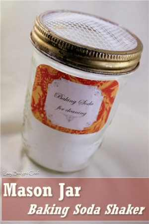 Baking Soda Shaker {tutorial}