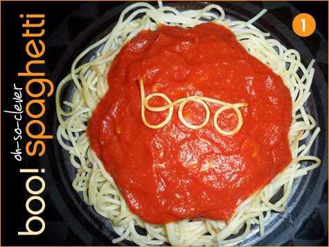 Boo Spaghetti