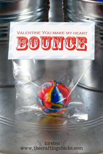 Bouncy Ball Valentine