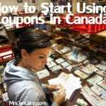 Canada Coupons How to Start Couponing