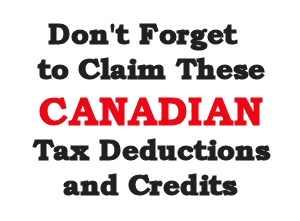 Canada Tax Credits