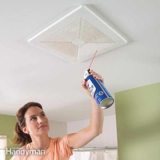 Clean Bathroom Exchaust Fan
