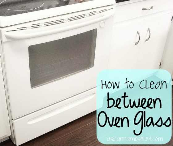 Clean Between Oven Glass