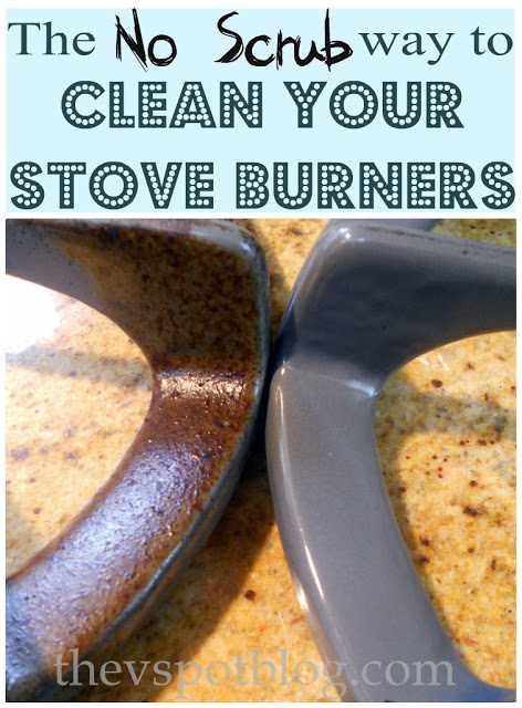 Clean Stove Burners