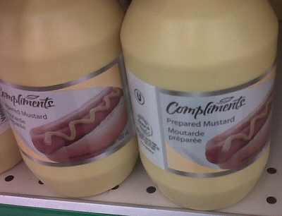 Compliments Mustard
