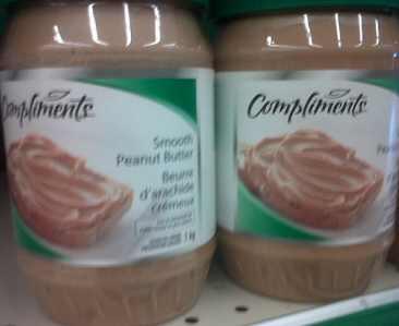 Compliments Peanut Butter