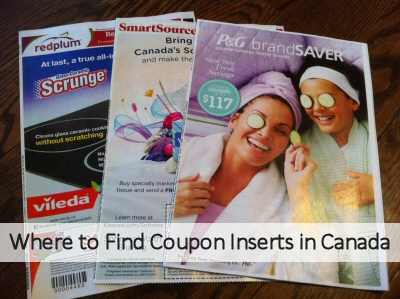 Coupon Inserts in Canada