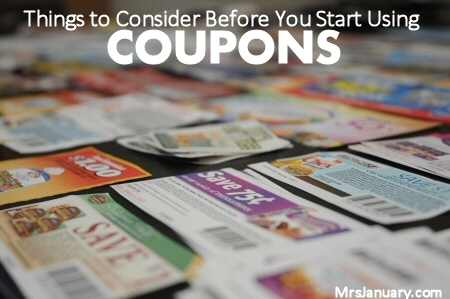 Couponing Thoughs