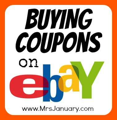 Coupons on Ebay