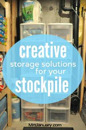 Creative Stockpile Storage Solutions