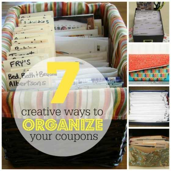 Creative Ways to Organize Coupons