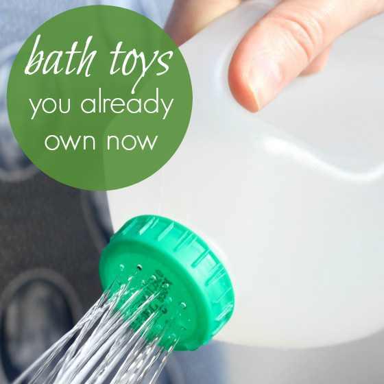 DIY Bath Toys