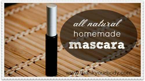 DIY Homemade Mascara