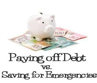 Debt or Emergencies