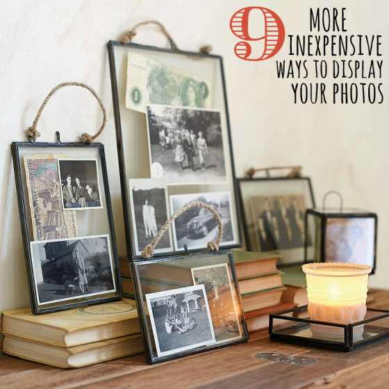 Display Photos Ideas
