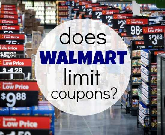 Does Walmart Limit Coupons