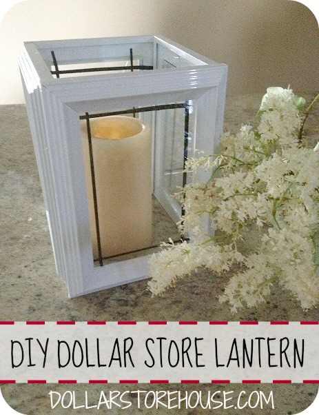 Dollar Store Lantern