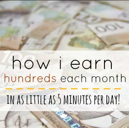 Earn Hundreds Each Month
