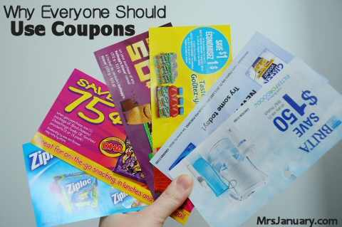 Everyone Should Use Coupons