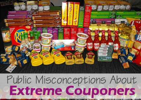 Extreme Couponing Misconceptions