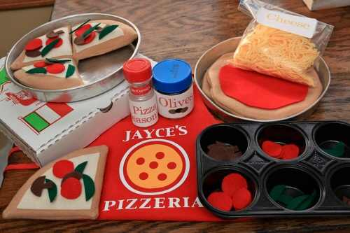 Felt Pizza Kit