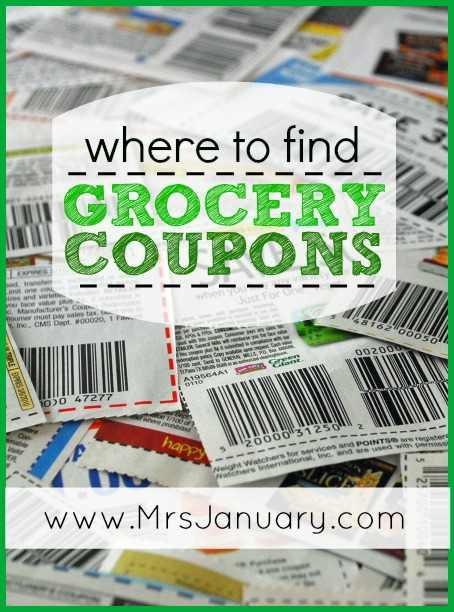 coupons by mail canada grocery