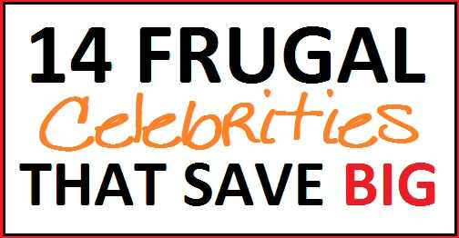 Frugal Celebrities
