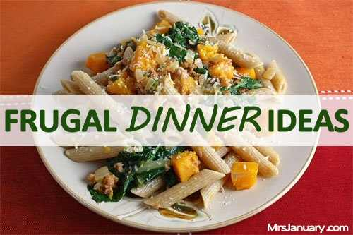 Frugal Dinner Ideas