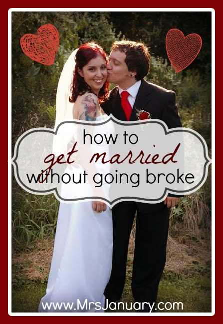 Get Married Without Going Broke