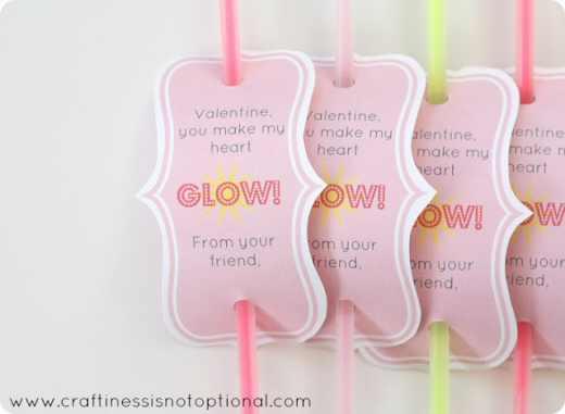 Glowstick Valentine