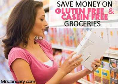 Gluten Free Casein Free Save Money