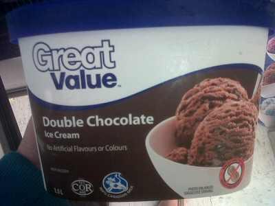 Great Value Ice Cream