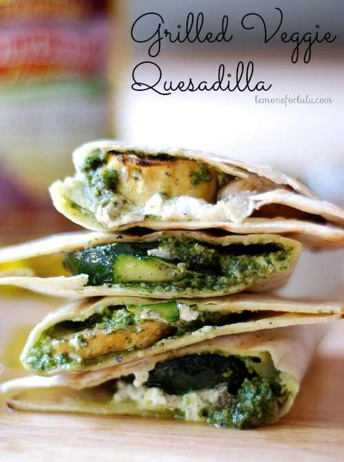 Grilled Veggie Quesedillas Pic
