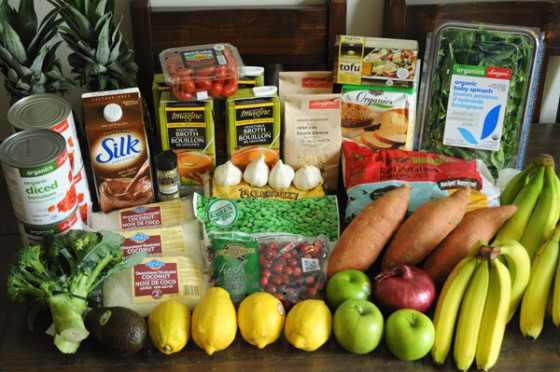 Groceries Vegan