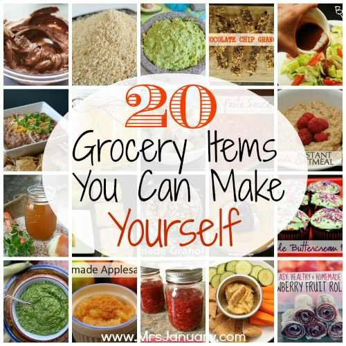Grocery Items to Make