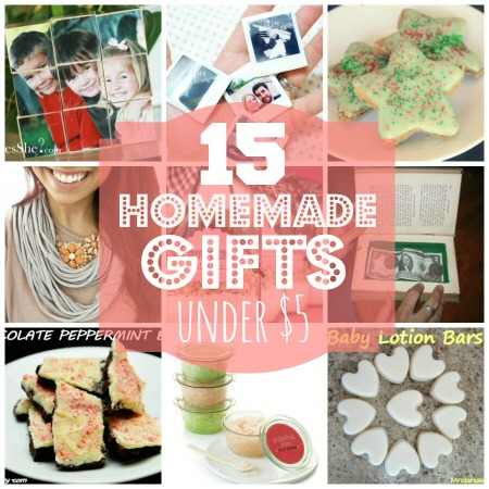 Homemade Gifts Under 5