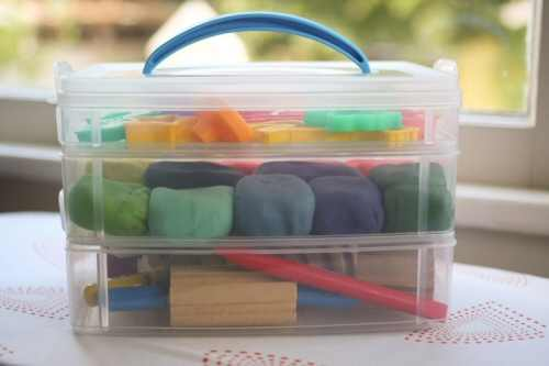 Homemade Playdough Kit