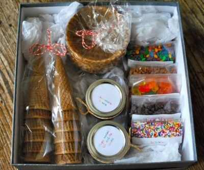 Homemade Sundae Kit