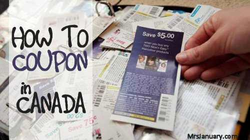 How to Coupon Canada