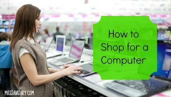 How to Shop for a Computer