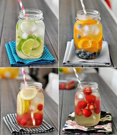 Infused Fruit Waters {recipe}