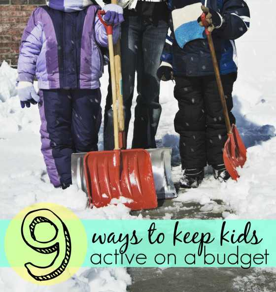 Keep Kids Active on a Budget