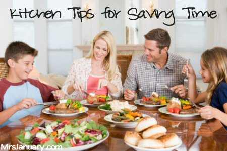 Kitchen Tips for Saving Time