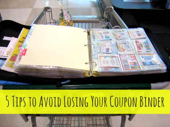 Lose Your Coupon Binder