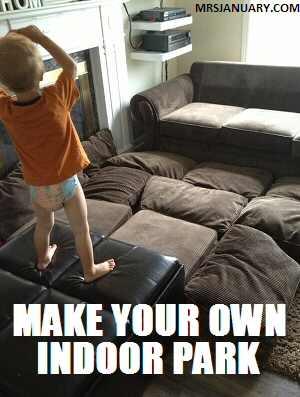 Make Your Own Indoor Park