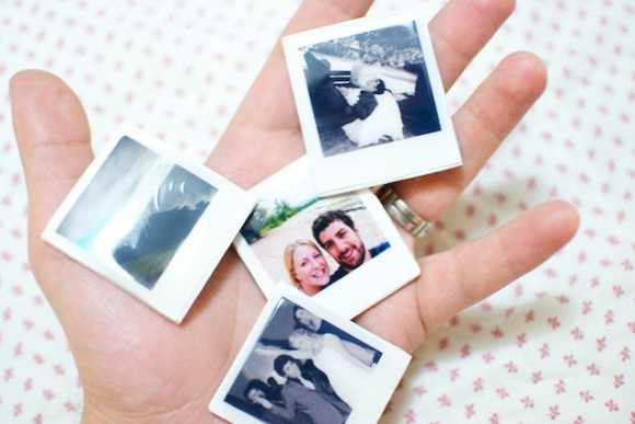 Mini Polaroid Magnets