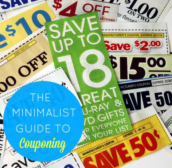 Minimalist Guide to Couponing